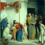 Jesus with Children 1009
