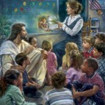 Jesus with Children 1012