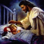 Jesus with Children 1021