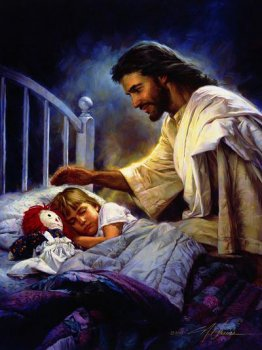 jesus with children wallpapers – set 10