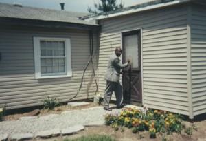 Pastor at the door