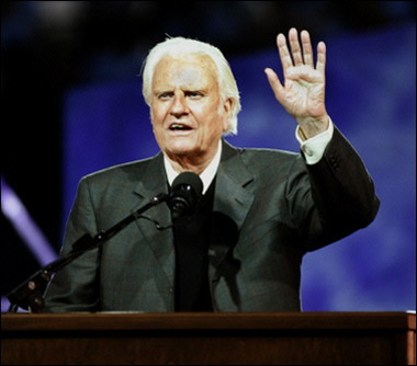 Rev. Billy Graham 87 years old now
