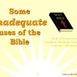 Some inadequate uses of the Bible_Preview 00