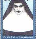 St Alphonsa stamp