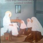 St Alphonsa wall paintings 02