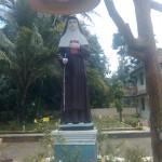 St Alphonsa\'s Statue at Kottayam, Kerala