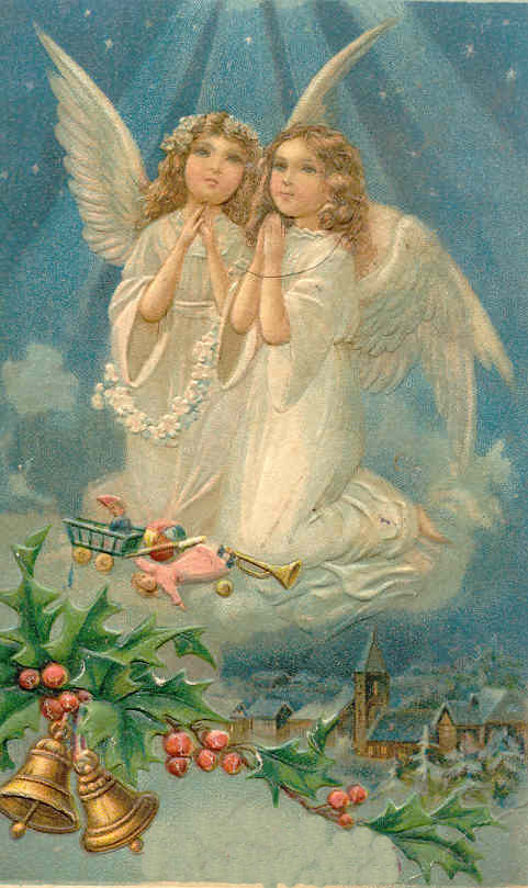 Two Angels Praying