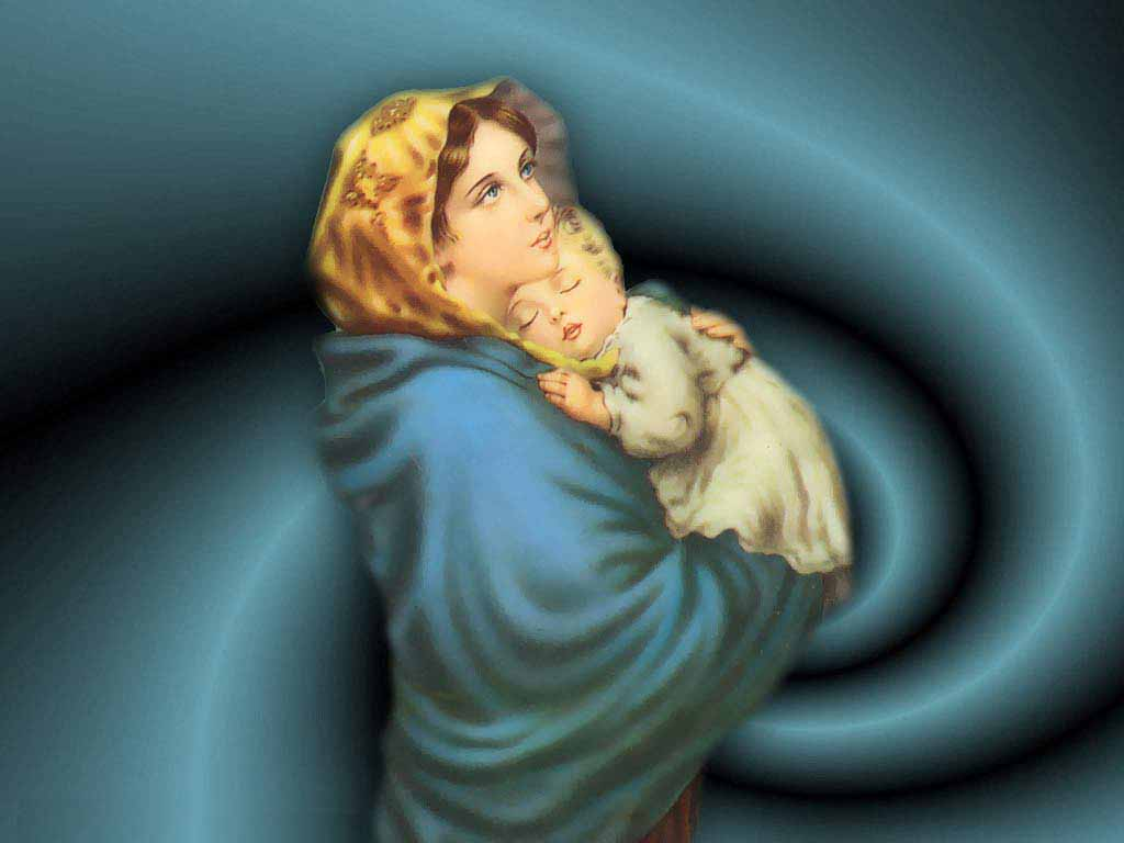 Mother Mary Wallpapers...