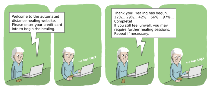 Distance Healing Website