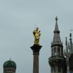 Golden Mary Statue 01