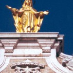 Golden Mary Statue 02