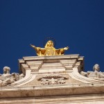 Golden Mary Statue 03