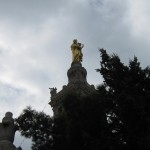 Golden Mary Statue 04