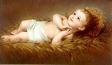 Infant Jesus in manger