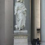 Statue of St. Luke the Evangelist