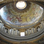 The magnificent dome of St. Peter\'s by Michelangelo