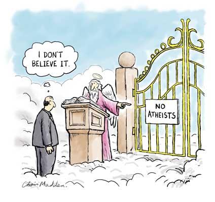 The Atheist meets Jesus