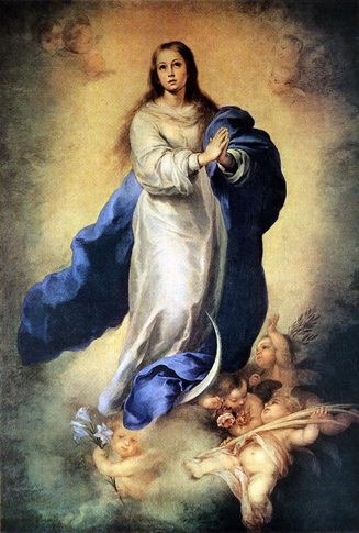 The Immaculate Conception Dec 8th