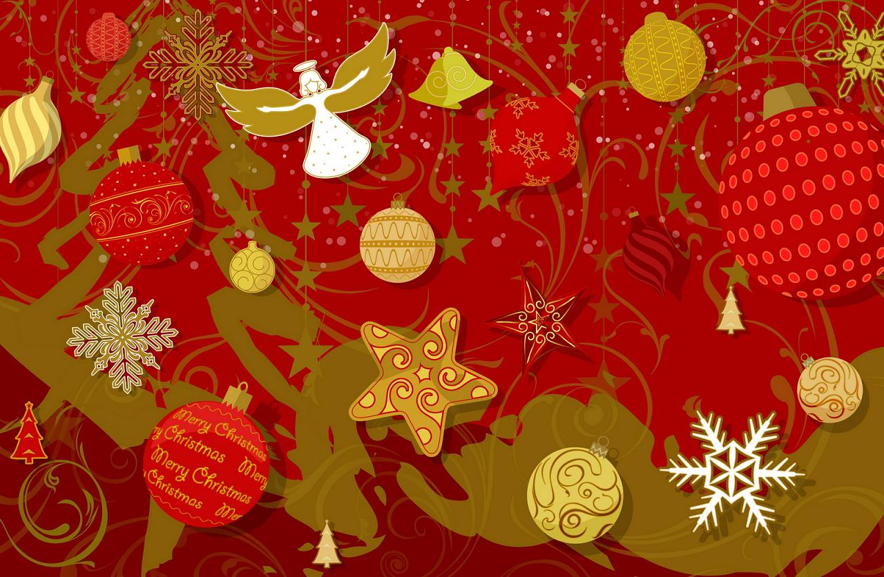 christmas Happy New year Wallpaper