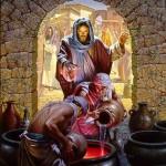Jesus at Kanah Wedding