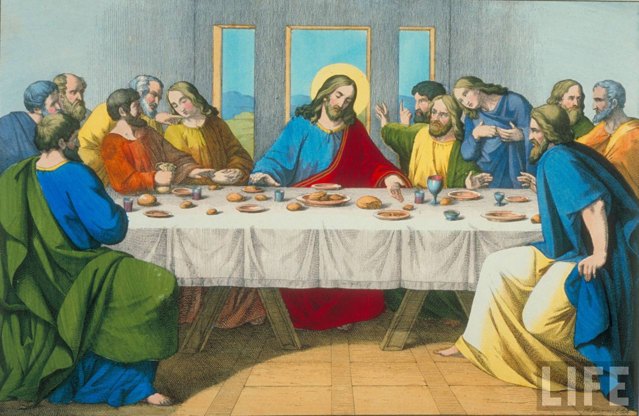 pics of the last supper – jesus and disciples