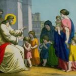 Jesus Christ blessing the little children
