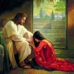 Jesus forgives sinners