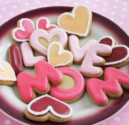 I love Mom cookies