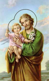 St Joseph with Baby Jesus