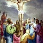 Jesus is raised upon the Cross and Dies