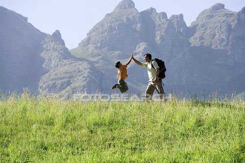 Son-and-Father-on-mountain