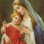Virgin Mary Mobile Wallpaper 0106