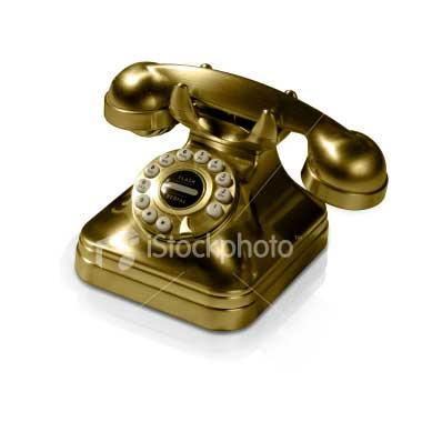 Golden-Telephone