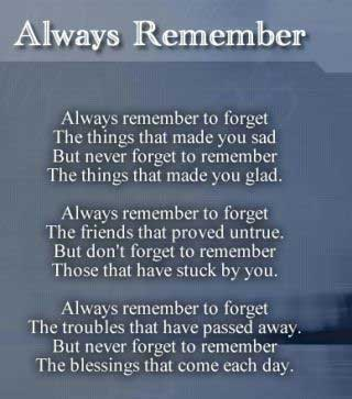 Remember-to-forget