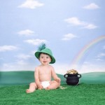 Lucky Baby with a Pot of Gold