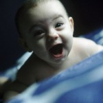 Cheerful Baby Shouting