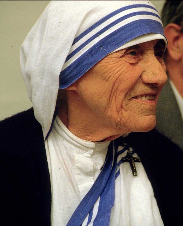 Mother Teresa Poem Life