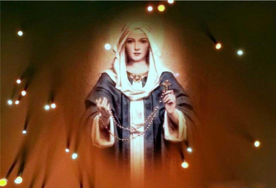 Religious Blue Sky Savior Virgin Mary Jesus Cross Crucifix Free