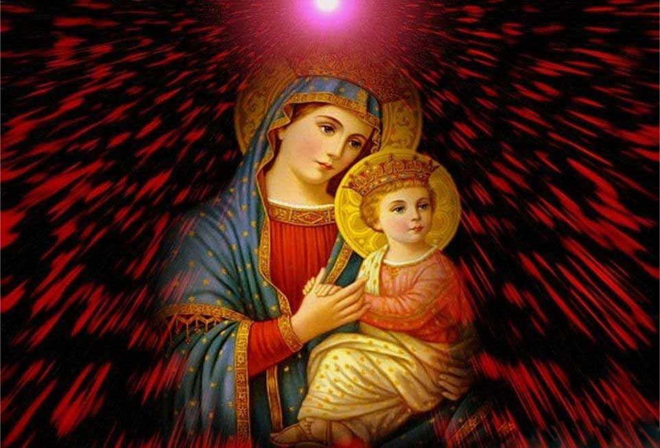 spiritual wallpapers. Mother Mary Wallpapers 13