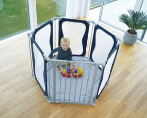 God climbed into our playpen