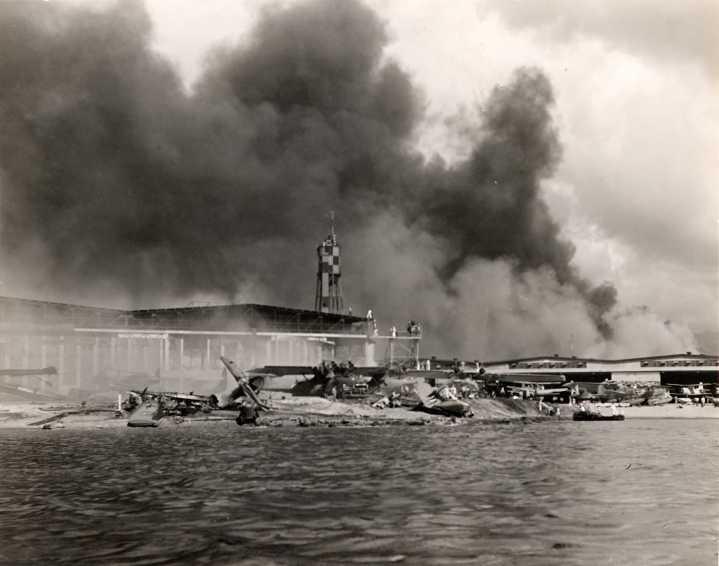Pearl Harbor bombing pics