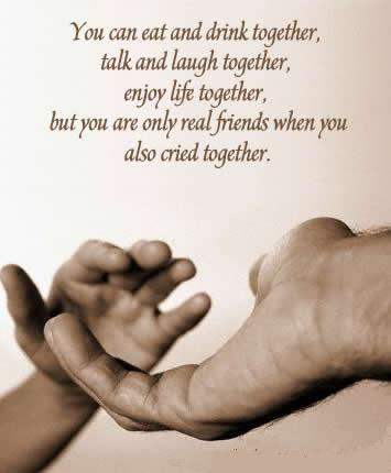 Simple-Friends-vs-Real-Friends - On friends - Love Talk