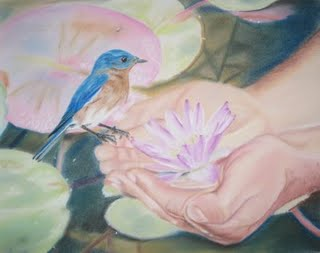 The Bluebird and the Lily