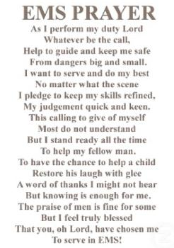 The EMS Prayer