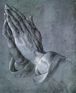 Albrecht Durers Praying Hands
