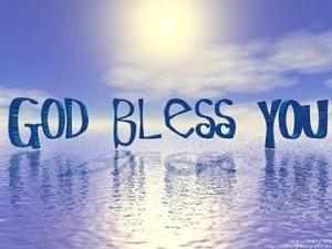 God Bless You