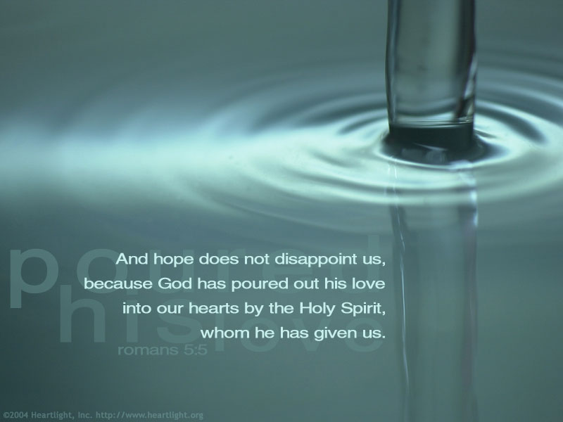 Holy Spirit Poured Out