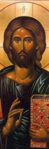 Jesus Painting in Church
