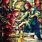 Jesus washing feet 08