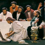 Jesus washing feet 10